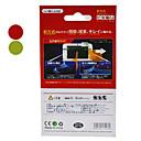 hesapli Nintendo DS Aksesuarları-Ekran Koruyucular Uyumluluk Nintendo 3DS Ekran Koruyucular Plastik 2 pcs birim