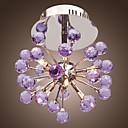 preiswerte LED Glühbirnen-6-Licht Kronleuchter / Unterputz Deckenfluter - Kristall, Ministil, Inklusive Glühbirne, 220v / 110-120V / 220-240V Inklusive Glühbirne / G4 / 20-30㎡