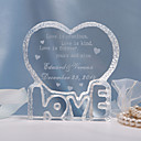 cheap Key Holders-Cake Topper Classic Theme Hearts Crystal Wedding Anniversary Bridal Shower With Gift Bag