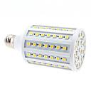 halpa Erikoisvalaisimet-680lm E26 / E27 LED-maissilamput 102 LED-helmet SMD 5050 Lämmin valkoinen 220-240V