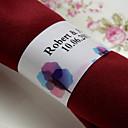 halpa Tarrat, laput ja etiketit-Materiaali Häät Napkins - 50pcs Servetit Servet Ring Häät Vuosipäivä Syntymäpäivä Kihlajaisjuhla Polttarit Koti Quinceañera & Sweet