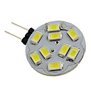 cheap LED Bi-pin Lights-1.5W 6000lm G4 LED Spotlight 9 LED Beads SMD 5730 Natural White 12V
