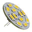 זול נורות לד Bi-pin-1.5 W תאורת ספוט לד 130-150 lm G4 12 LED חרוזים SMD 5730 לבן חם 12 V / #