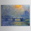 povoljno Poznate slike-Hang oslikana uljanim bojama Ručno oslikana - Poznat Comtemporary Platno