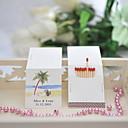 hesapli Çıkartmalar, Etiketler ve Tagler-Düğün / Parti Malzeme Sert Kart Kağıdı Düğün Süslemeleri Kumsal Teması / Düğün Bahar Yaz Sonbahar Tüm Mevsimler