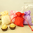cheap Favor Holders-Satin Favor Holder with Pattern Favor Bags - 24