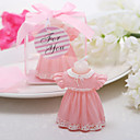 cheap Wedding Ribbons-Beautiful Lovely Pink Skirt Candle Favor Elegant Wedding Favors