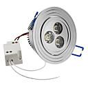 cheap LED Recessed Lights-SENCART 6500lm LED Recessed Lights / LED Ceiling Lights Recessed Retrofit 3 LED Beads High Power LED Natural White 85-265V / #
