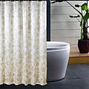 preiswerte Duschvorhänge-1pc Duschvorhänge Polyester Blumen / Pflanzen Bad
