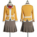 billiga Sexiga uniformer-Uniformer Cosplay Kostymer / Dräkter Dam Skoluniform Halloween Karnival Nyår Festival / högtid Terylen Cotton outfits