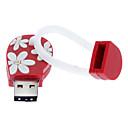 hesapli Suni Çiçek-8GB USB flash sürücü usb diski USB 2.0 Plastik Karikatür Kompakt Boyut