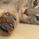 abordables Accesorios de Aseo para Gatos-Gato de Aseo Atención de Salud Tapa para Uñas Rojo Verde Azul Rosa Verde Cazador