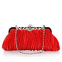 cheap Jewelry Sets-Women's Bags Polyester Evening Bag Crystal / Rhinestone Red / Pink / Wine