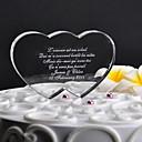 hesapli Pasta Tepesi Süsleri-Pasta Üstü Figürler Klasik Tema Kalpler Kristal Düğün Yıldönümü ile Hediye Kutusu