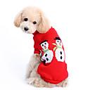 voordelige Pet Christmas Costumes-Hond Truien Hondenkleding Schattig Houd Warm Kerstmis Effen Kostuum Voor huisdieren