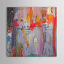 ieftine Picturi în Ulei-Hang-pictate pictură în ulei Pictat manual - Abstract Contemporan pânză