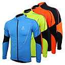 cheap Cycling Jackets-Arsuxeo Men's Cycling Jersey / Cycling Jacket Bike Jersey / Top Thermal / Warm, Fleece Lining, Breathable Patchwork Polyester, Fleece