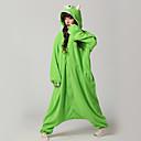 abordables Perruques de Cosplay de jeux vidéos-Déguisement Combinaison Adulte Monstre borgne Polaire Pyjamas Kigurumi pour Homme et Femme Vert Halloween Animal Cosplay Costumes