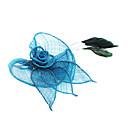 זול מתנות לחתונה-קריסטל / בד Tiaras / פרחים 1 חתונה / מסיבה\אירוע ערב / קזו'אל כיסוי ראש
