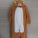 tanie Kostiumy dla Dorosłych-Dla dorosłych Piżama Kigurumi Niedźwiedź Piżama Onesie Polar Cosplay Dla Mężczyźni i kobiety Animal Piżamy Rysunek Halloween Festiwal/Święto