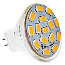 رخيصةأون LED مصابيح متوهجة-SENCART 5W 450-500lm G4 LED ضوء سبوت MR11 15 الخرز LED SMD 5730 أبيض دافئ / أبيض كول 24V