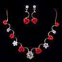 cheap Necklaces-Women's Others Jewelry Set Earrings / Necklace - Regular For Wedding / Party / Special Occasion