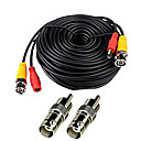 abordables Accesorios de Seguridad-Cables 150 Feet Video Power Cable for CCTV Surveillance System para Seguridad sistemas 5000cm 0.7kg