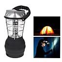 billige Lampestolper-36 LED White Lights sveiv Solar Lantern Camping lampe med lader