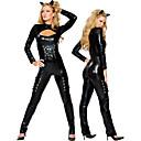 povoljno PU & SM-Karijera kostime Cosplay Nošnje Žene Halloween Karneval Festival / Praznik Polyurethane Leather Karneval kostime