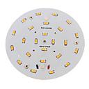 preiswerte LED Zubehör-1pc 10 W 800-900 lm 24 LED-Perlen SMD 5730 Warmes Weiß 220-240 V / RoHs