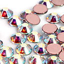 ieftine Glitter unghii-1440 pcs Unghiul de bijuterii / Glitter & Poudre Abstract / Modă Zilnic Nail Art Design / Teracotă