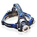 preiswerte Taschenlampen-3 Stirnlampen / Fahrradlicht LED >200 lm 3 Beleuchtungsmodus inklusive Batterien und Ladegerät Zoomable- / einstellbarer Fokus Multifunktion