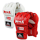 cheap Boxing Gloves-Boxing Bag Gloves / Pro Boxing Gloves / Boxing Training Gloves For Martial Arts, Mixed Martial Arts (MMA) Fingerless Gloves Protective PU(Polyurethane) Unisex - White / Black / Red