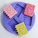 baratos Artigos de Forno-Ferramentas bakeware Plástico Bolo Moldes de bolos 1pç