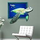 hesapli LED Şerit Işıklar-Dekoratif Duvar Çıkartmaları - 3D Duvar Çıkartması 3D Oturma Odası / Yatakodası / Yemek Odası / Yıkanabilir