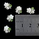hesapli Tırnak Takısı-10 pcs Nail Jewelry / Diğer Süslemeler Mevye / Çiçek / Soyut Günlük Mevye / Çiçek / Soyut Sevimli / Karikatür / Punk / Metal