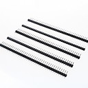 cheap Other Parts-40-Pin 2.54mm Pitch Pin Headers (5 PCS)