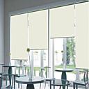 preiswerte Fenster Schürze-Moderne Beige Blackout Rollo