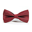 cheap Men's Accessories-Men's Party Work Basic Polyester Bow Tie - Polka Dot