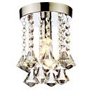 cheap LED Globe Bulbs-LightMyself™ Flush Mount Ambient Light - Crystal, Mini Style, 110-120V / 220-240V Bulb Not Included / 20-30㎡ / E12 / E14