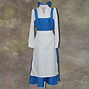 cheap Historical & Vintage Costumes-Beauty and The Beast Series Blue and White Maid Outfits