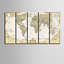 halpa Tulosteet-Canvas Set Classic Realismi,5 paneeli Pystysuora Tulosta Art Wall Decor For Kodinsisustus