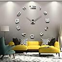 """levne Nástěnné hodiny-39 """"w diy 3d zrcadla čísla akrylová samolepka nástěnné hodiny"""
