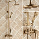 cheap Shower Faucets-Shower Faucet - Antique Shower System Ceramic Valve