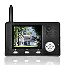 billige Strass og dekorasjoner-farge lcd dørtelefon ringeklokke intercom system 2.4G trådløs video ir-kamera