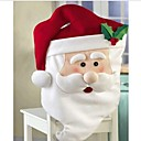 お買い得  クリスマスデコレーション-サンタクロースの台所のテーブルの椅子は、87 * 51センチメートルをカバー