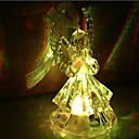 baratos Adesivos de Parede-Coway acrílico praying angels colorido led nightlight alta qualidade