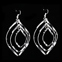 cheap Earrings-Women's Drop Earrings - Sterling Silver, Silver Silver For Party