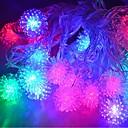 billige Vegglamper-jiawen® 4m 20leds RGB LED snøball streng lys jule streng lys til pynt (ac 110-220V)
