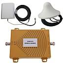 abordables Amplificadores de Señal Móvil-GSM / DCS 900 / 1800MHz de doble banda de la señal del teléfono móvil kit de antena amplificador de refuerzo
